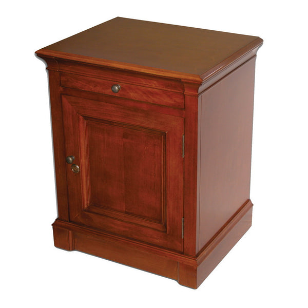 Quality Importers Lauderdale End Table Humidor Hum Ldcab