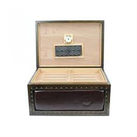 Quality Importers, Quality Importers Nottingham Vintage Desktop Humidor, Humidor - Humidor Enthusiast