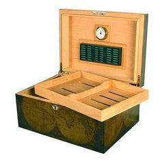 Quality Importers, Quality Importers Old World Desktop Humidor, Humidor - Humidor Enthusiast
