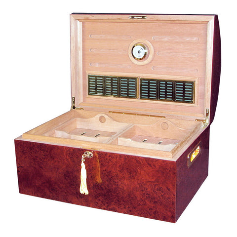 Quality Importers Treasure Dome Desktop Humidor