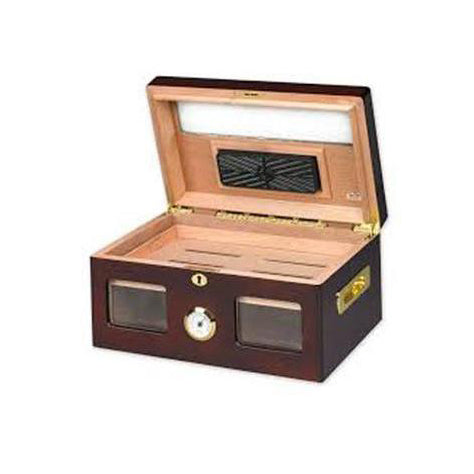 Quality Importers, Quality Importers Versailles Glass Top Humidor, Humidor - Humidor Enthusiast