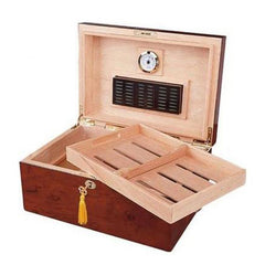 Quality Importers, Quality Importers Deauville Desktop Humidor, Humidor - Humidor Enthusiast