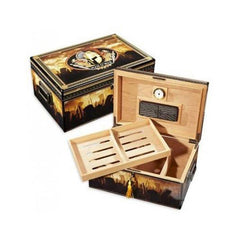 Quality Importers, Quality Importers Man O War Branded Humidor, Humidor - Humidor Enthusiast