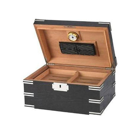 Quality Importers, Quality Importers Ironside Desktop Humidor, Humidor - Humidor Enthusiast