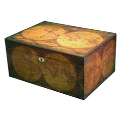Quality Importers Old World Desktop Humidor