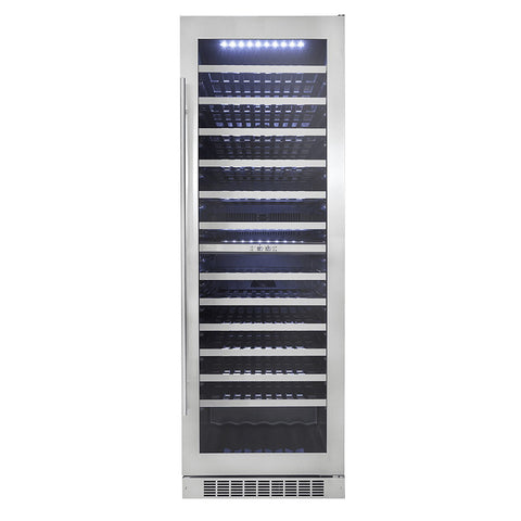 "Silhouette Bordeaux 24"" Dual Zone Wine Cooler"