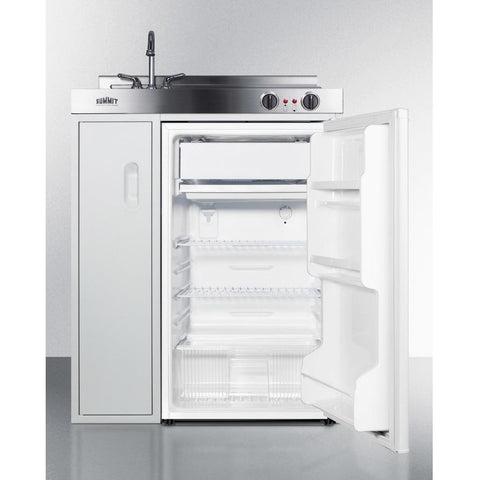 Summit C30ELAUTO Refrigerator-Freezer Features Automatic Defrost