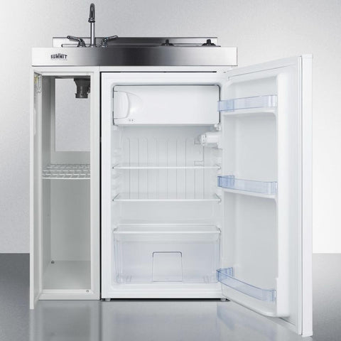 "Summit C30ELGLASS Complete Kitchen Convenience In Just 30"" Of Width"