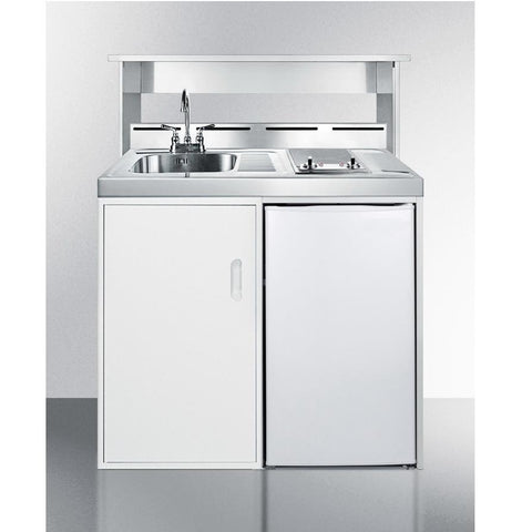 "Summit C39ELGLASS Complete Kitchen Convenience In Just 39"" Of Width"