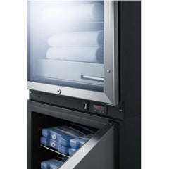 Summit FRBW51 Upper Warming Cabinet and Lower All-Freezer