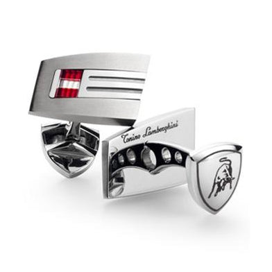 Tonino Lamborghini, Tonino Lamborghini Corsa Collection Cufflinks, Cigar Cufflink - Humidor Enthusiast
