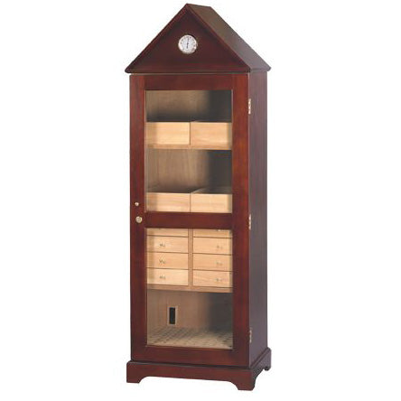 Tower Cabinet Humidor 'The Jefferson' - 3,000 Cigar Capacity