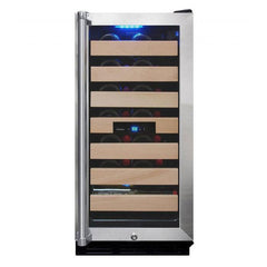 Vinotemp 26-Bottle Wine Cooler with Interior Display