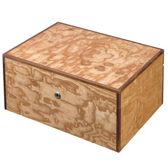 Visol, Visol Liberty Humidor Built With Birdseye Maple Exotic Wood, Humidor - Humidor Enthusiast