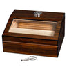 Image of Visol, Visol Captain Walnut Finish 40 Humidor, Humidor - Humidor Enthusiast