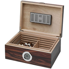 Visol Brawley Humidor With Macassar Finish