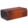 Image of Visol, Visol Brown Crocodile Leather Humidor, Humidor - Humidor Enthusiast