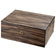 Visol Warrick Polished Zebrawood Locking Humidor