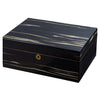 Image of Visol, Visol Remo Polished Ashburl Wood Locking Humidor, Humidor - Humidor Enthusiast