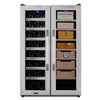 Image of Whynter, Whynter CWC-351DD Freestanding Wine Cooler and Cigar Humidor Center, Humidor - Humidor Enthusiast