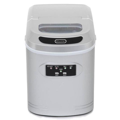Whynter Compact Portable Ice Maker 27 Lbs. Capacity