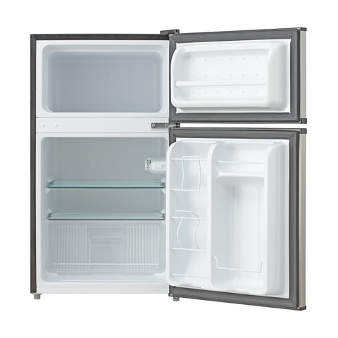 Whynter MRF-340DS Energy Star Stainless Steel Refrigerator/Freezer