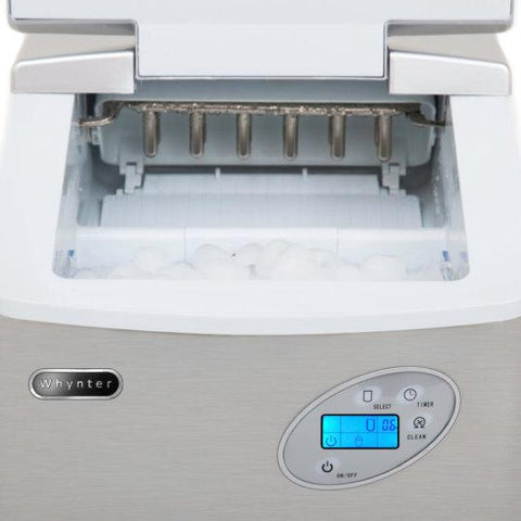 Whynter Portable Countertop Ice Maker 49 Lbs. Capacity IMC-490SS