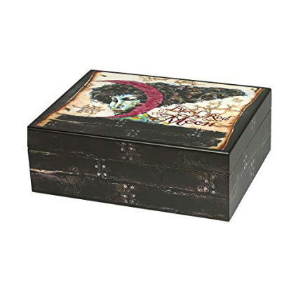 Quality Importers, Humidor Blood Red Moon, Humidor - Humidor Enthusiast