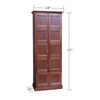 Image of 2-Column Cigar Locker Humidor - 10 Cigar Lockers