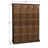 Image of 4-Column Cigar Locker Humidor with 20 Lockers