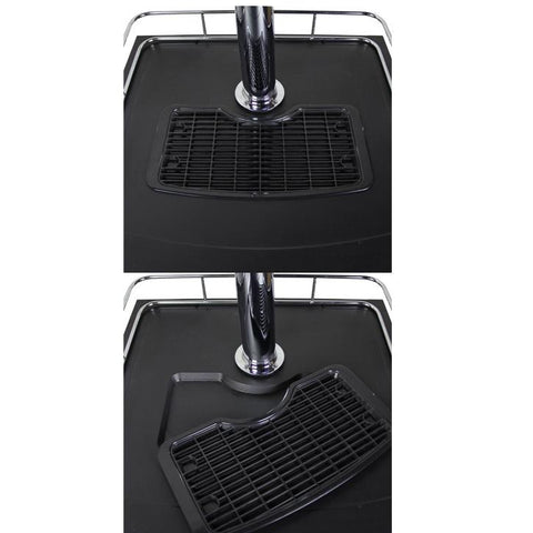 Kegco K209SS-3NK Three Keg Tap Faucet Kegerator - Black Cabinet with Stainless Steel Door