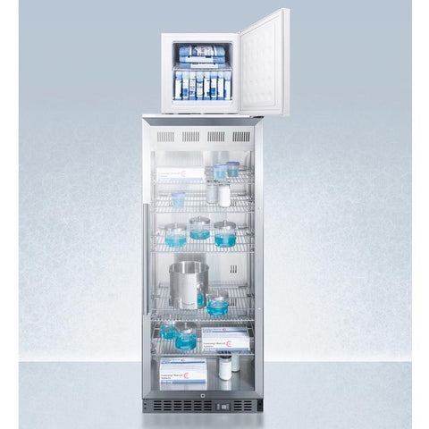 Summit ACR1151-FS24LSTACKPRO Space-saving Design Pharmaceutical All-refrigerator