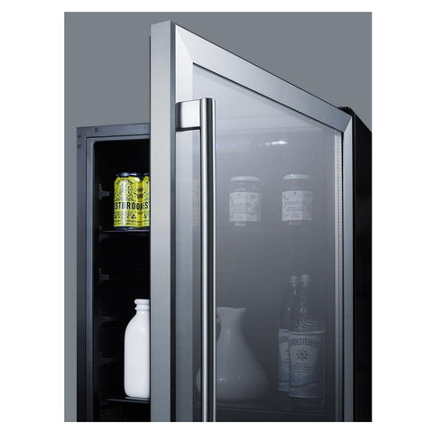 Summit AL57G Deluxe Style and User-friendly Features Beverage Refrigerator