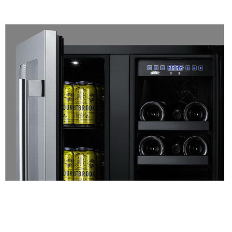 Summit ALFD24WBV Flexible Design Beverage and Wine