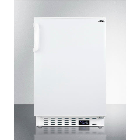 "Summit  ALFZ36 20"" Wide Built-In All-Freezer, ADA Compliant"