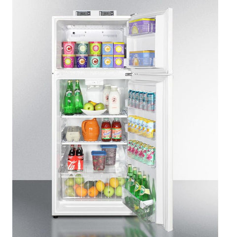 Summit BKRF1118W Mid-sized Refrigerator-freezer