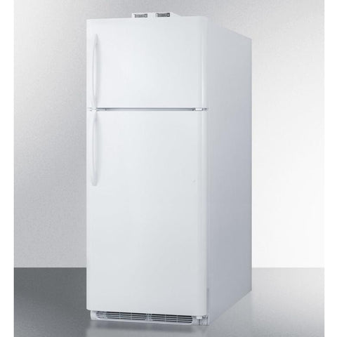 Summit BKRF18W Adjustable Thermostat Full-sized Refrigerator-freezer