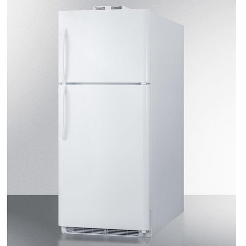 Summit BKRF21W Adjustable Glass Shelves Full-sized Refrigerator-freezer