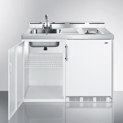 Summit C48ELGLASS Complete Kitchen Convenience In Just 48