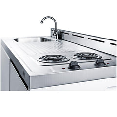 Summit C48EL Complete Kitchen Convenience In Just 48