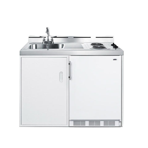 "Summit C48EL Complete Kitchen Convenience In Just 48"" Of Width"