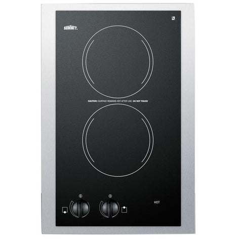 Summit CR2220TK15 Top Performance Electric Cooktop