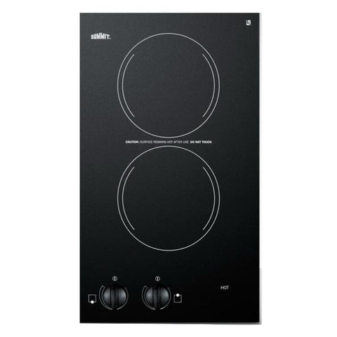 Summit CR2220 Outstanding Value Electric Cooktop