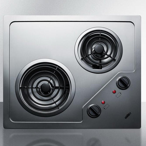 Summit CR2B122 Modern Convenience Electric Cooktop