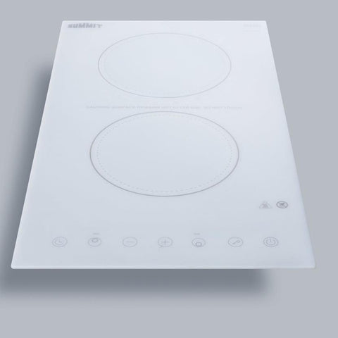 Summit CR2B15T2W Smooth-top Radiant Cooktops