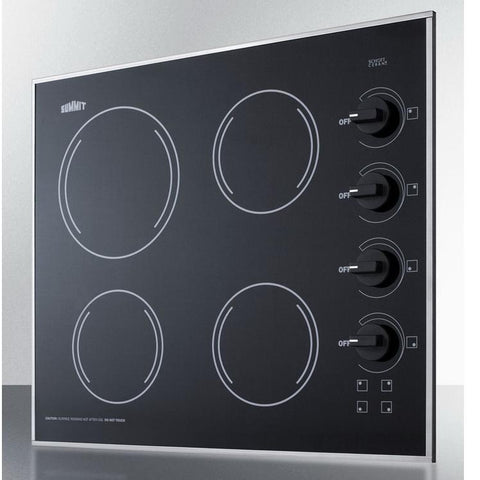 Summit CR425BL Smooth-top Electric Cooktops