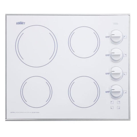 Summit CR425WH Smooth-top Electric Cooktops