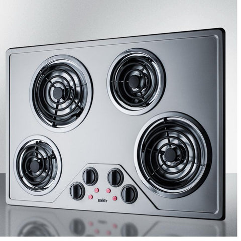 Summit CR430SS Stainless Steel Finish Electric Cooktops
