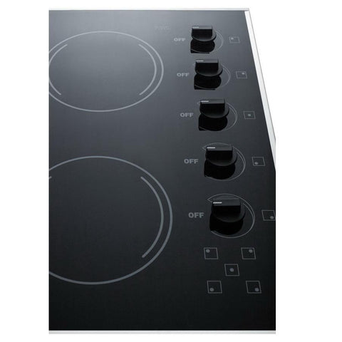 Summit CR5B273B Smooth-top Electric Cooktops