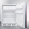 Image of Summit AL650BIIF Adjustable Shelves Built-In Undercounter